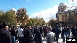 Protest in Hamedan, Iran-- 16 Nov 2019. FILE PHOTO