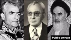 کریم سنجابی (وسط)، در روزهایی که شاه به دنبال نخستوزیری از جبهه ملی بود، عملا رهبر این جریان سیاسی بود و میتوانست مهمترین گزینه برای این مقام باشد.