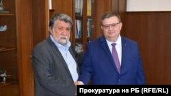 Вежди Рашидов и Сотир Цацаров се срещнаха на 23 юли