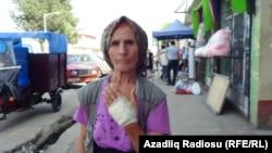 Astara sakini Fəridə İbayeva, İranla sərhədi keçərkən yaralanıb