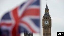 Flamuri britanik dhe ora, Big Ben.