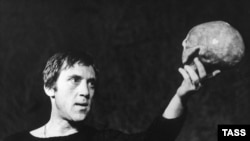 """""""Hamlet,"""" directed by Yuri Lyubimov and performed at the Taganka Theater in 1971."""