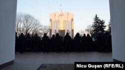 Proteste antiguvernamentale, Chișinău 20 ianuarie 2016.