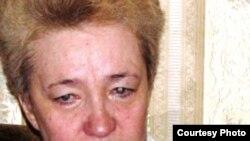 Татьяна Назарова, мать погибшего актюбинского водителя Ивана Назарова.