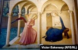 Fra Angelico, Buna Vestire (San Marco, Florența)