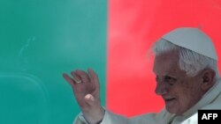 Бенедикт XVI в Португалии