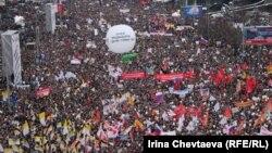"""Акция """"За честные выборы"""" в Москве 24 декабря 2011 года"""