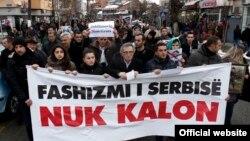 Pamje nga protestsat e ditëve të fundit kundër ministrit Jabllanoviq
