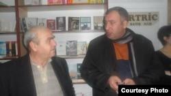 soldan sağa: Azad Qaradərəli və Şərif Ağayar