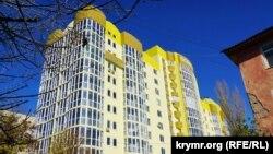 Дом фирмы «Консоль» на проспекте Победы в Симферополе