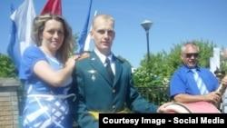 Российский офицер Иван Щербаков, обвиняемый в убийстве 22-летней гражданки Таджикистана Шоиры Джобировой.