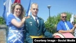 """Старший лейтенант Иван Щербаков (фотография из его странички во """"ВКонтакте"""")"""