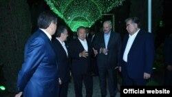 Главы стран СНГ. Душанбе, 27 сентября 2018 года.