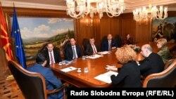 Средба меѓу премиеротЗоран Заев со делегација на Националниот демократски институт (НДИ) од Вашингтон