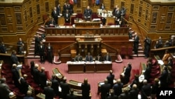 """The French Senate adopted a nonbinding resolution stating that """"the security and freedom of the Armenian populations in Nagorno-Karabakh are not guaranteed by the Republic of Azerbaijan."""""""