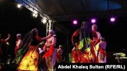 جانب من فعاليات مهرجان دهوك