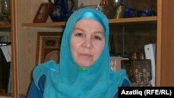 Татарская писательница и политический деятель Фаузия Байрамова.