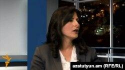 Փաստաբան Լուսինե Սահակյանը «Ազատություն TV»-ի տաղավարում, արխիվ