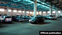 Հայաստան ներմուծված ավտոմեքենաներ մաքսատանը, արխիվ