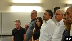 """Сеад Кочан на изрекувањето на пресудата за """"Труст"""""""