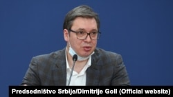 Vučić je rekao da se nada ukidanju vanrednog stanja krajem aprila ili u maju.