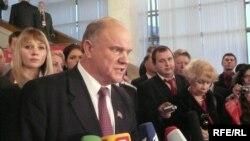 Геннадий Зюганов пообещал начать всерьез бороться за власть