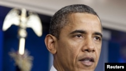 АҚШ президенті Барак Обама. Вашингтон, 21 қазан 2011 жыл.