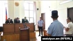 Судебное заседание по делу Манвела Григоряна (архив)