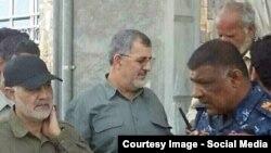 علاوه بر تصاویر متعددی که از حضور قاسم سلیمانی در میان فرماندهان عراقی منتشر شده، اخیراً تصویری در منابع خبری ایران منتشر شده که محمد پاکپور فرمانده نیروی زمینی سپاه را در کنار او در عراق نشان میدهد.
