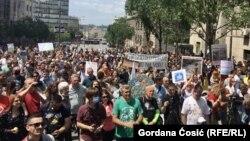 Protest u Beogradu (13. jun 2020)