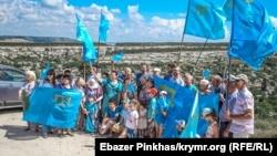 Qırımtatar bayraq kününe bağışlanğan tedbir, Bağçasaray, 2019 senesi iyünniñ 25-i