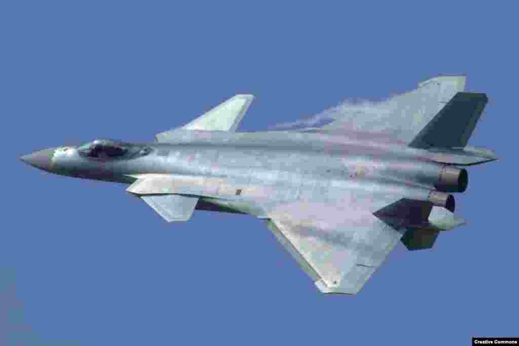 This year, 28 Chengdu J-20 fighters were delivered to China's Air Force. The J-20 can tuck missiles inside its airframe, is shaped to baffle radar detection, and is coated in paint that absorbs radar waves.