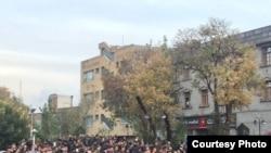 Фотографии с акции протеста