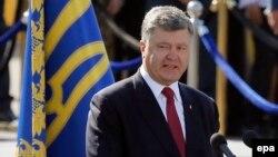 Украина президенті Петр Порошенко. Киев, 24 тамыз 2015 жыл.