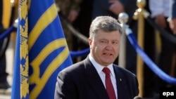Петр Порошенко на Марше Независимости в Киеве