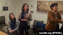 Uzbekistan - the daughter of journalist Muhammad Bekzhan CPJ receives award