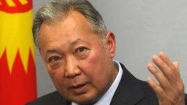 Former Kyrgyz President Kurmanbek Bakiev