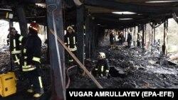 Bakuwyň neşekeşlikden saplaýan merkezinde turan ýangynda azyndan 25 adam öldi