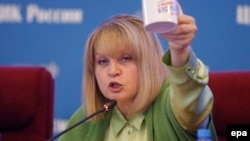 Although Ella Pamfilova, the chairman of Russia's election commission, has promised to investigate reports of fraud, she maintains that there was no systematic falsification and that the September 18 vote was legitimate.