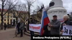 Псков. Митинг в память Бориса Немцова