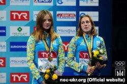 София Лыскун и Валерия Люлько