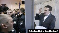Судот во Киев го ослободи опозиционерот Михаел Саакашвили, 11.12.2017.