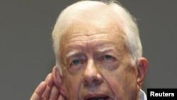 Former U.S. President Jimmy Carter (file photo)