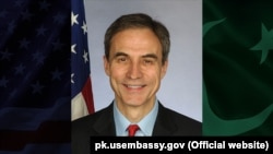 U.S. Chargé d'Affaires in Pakistan Paul Jones (file photo)