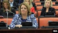 Архивска фотографија: Специјалната јавна обвинителка Катица Јанева на Седница на собраниската Комисија за политички систем