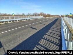 Мост отремонтировали меньше, чем за полгода