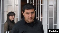Armenia - Mushegh Antonian, a witness in the trial of opposition deputy Hakob Hakobian, 26May2009