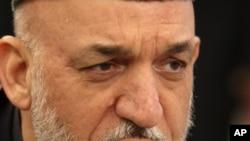 Ауғанстан президенті Хамид Карзай