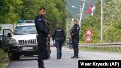 Pamje gjatë aksionit të Policisë së Kosovës më 28 maj.