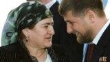 Президент Чечни Рамзан Кадыров с матерью Аймани после церемонии инаугурации в Гудермесе, 2007 год